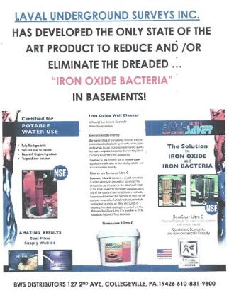 iron oxide bacteria remover